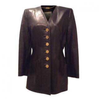 Vintage Celine Leather Jacket