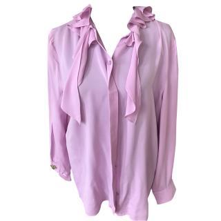 Gucci pink silk  blouse