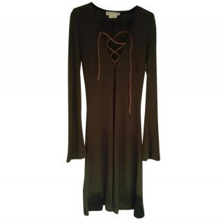 Michael Kors (Main Collection) Brown dress