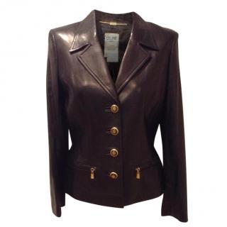 Celine Vintage Leather Jacket