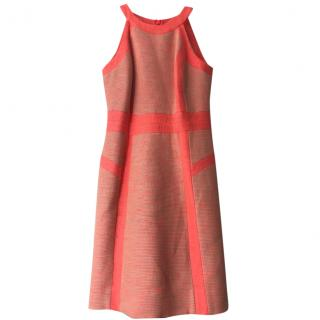 Milly Coral striped Dress