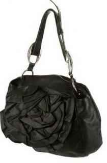 Yves Saint Laurent Rive Gauche Nadja Rose Shoulder Bag