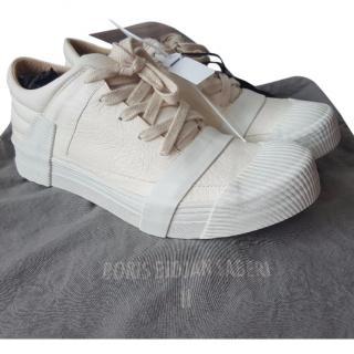 Boris Bidjan Saberi Bamba 3 White Men's Sneakers