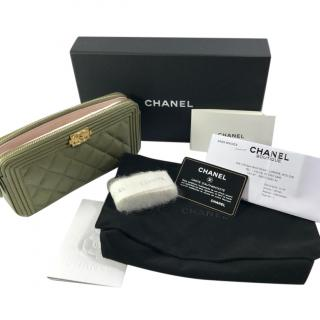 Chanel Boy Wallet On A Chain