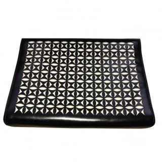 Alaia Perforated Black Clutch Bag