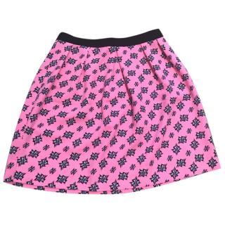 Sandro Neon Pink skirt