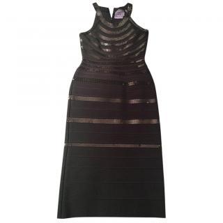 Herve Leger sequinned dress - worn once
