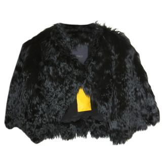 Fendi Peruvian Alpaca silk-lined ultra-luxe Jacket It 40