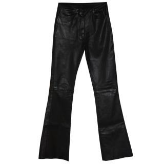 Jitrois Leather trousers Fr 34