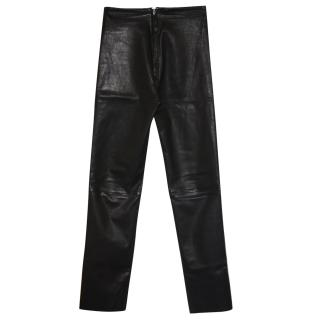 Jitrois leather trousers Fr 32