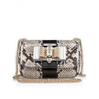 Christian Louboutin Sweety Charity bag python roccia