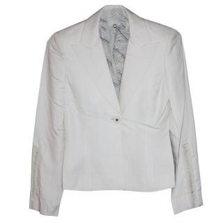 Gianni Versace Silk Suit It 38 RRPgbp2,700