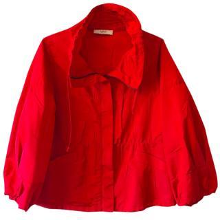 Prada Red Rain Jacket