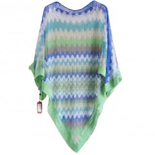 Missoni finely woven poncho
