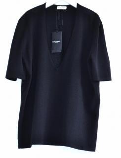 Saint Laurent black wool jumper