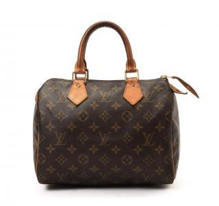 Louis Vuitton Speedy 25 Monogram Hand Bag 10400