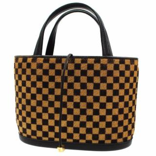 Louis Vuitton Impala Damier Sauvage Hand Bag 10392
