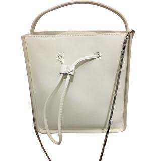 Phillip Lim White Leather Shoulder Tote
