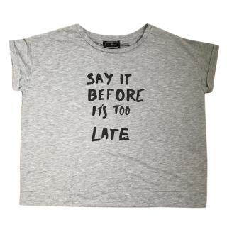 By Malene Birger gray tshirt