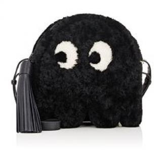 Anya Hindmarch Shearling Ghost Cross Body Bag
