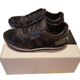Dolce & Gabbana Black Sneakers