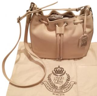 Ralph Lauren Ivory soft leather bag