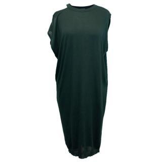 Lanvin Green Silk Blend Dress