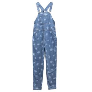 Stella McCartney Kids 'Rudy' Star Print Dungarees