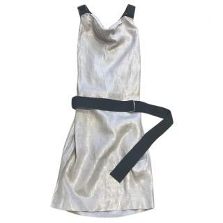 D&G Dolce & Gabbana Linen Dress