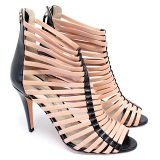 Brian Atwood Caged Heeled Sandals