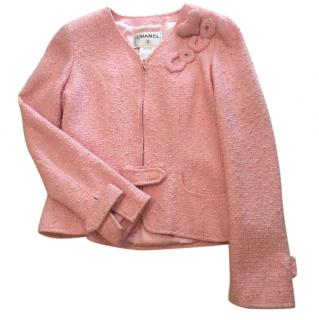 Coco Chanel Pink Boulce Jacket.