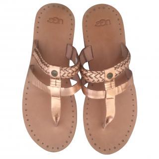 Ugg Rose Gold Sandals
