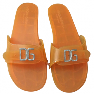 D&G Orange Summer Sandals