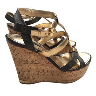 Louis Vuitton Sandal Wedges