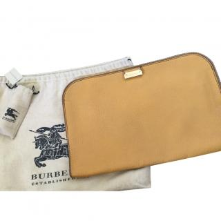 Burberry Beige Clutch Bag