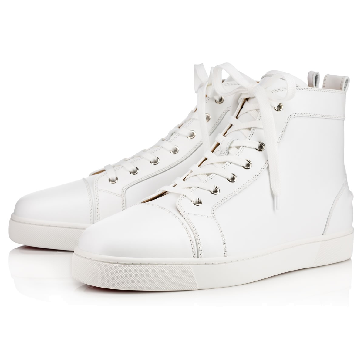 new concept 6e66a a3a60 Christian Louboutin White Mens Sneakers