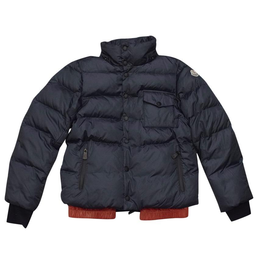 33e1aff7294b Moncler Kids Navy Down Coat