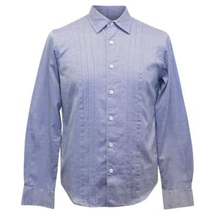 Cash Ca Men's Light Blue Cotton Shirt