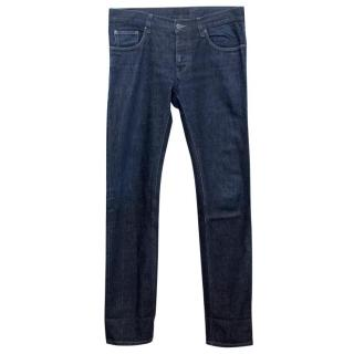 Prada Men's Dark Blue Denim Jeans