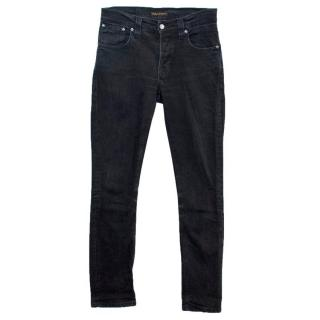 Nudie Jeans Co Men's Black Skinny Jeans