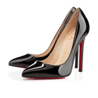 Christian Louboutin Classic - Pigalle 120 Patent Black