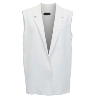 Joseph White Tailored Gilet