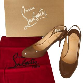 Christian Louboutin Taupe Shoes