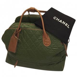 Chanel Harrods Collaboration Travel Bag