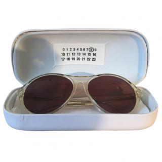 Maison Martin Margiela '8' Replica France sunglasses in Champagne