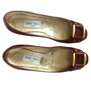 Jimmy Choo Red Patent Shoes