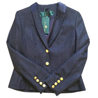 Holland Cooper navy wool jacket