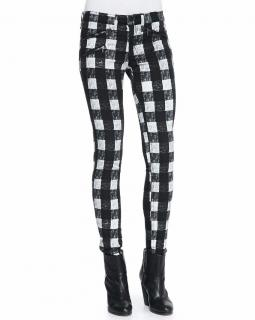 Rag & Bone RBW 23 Check Zip-Pocket Twill Jeans