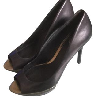 Brian Atwood Peep Toe Pumps