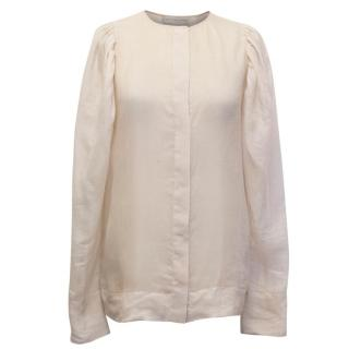 Stella McCartney Light Pink Silk Blouse